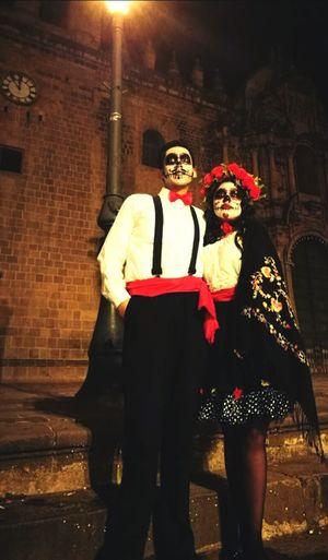Día de los muertos... ParejaPerfecta Amor De Muertos México Y Cusco