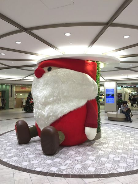 Santa has come to town... Japan Ikebukuro Tokyo Decoration Christmastime Xmas Santa Claus Santa Indoors  No People Red Illuminated Day