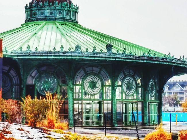 The old carousel house in Asbury Park. This beautiful building is rumored to be razed soon. Hope to get some more pics of it up soon. Asbury Park New Jersey Old Buildings Carousel History