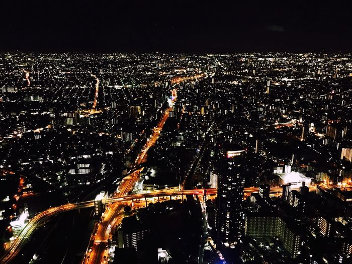 OSAKA Harukas 夜景