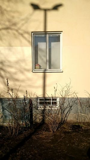 Shadow Apartment Building Window Rosenlundsparken Södermalm