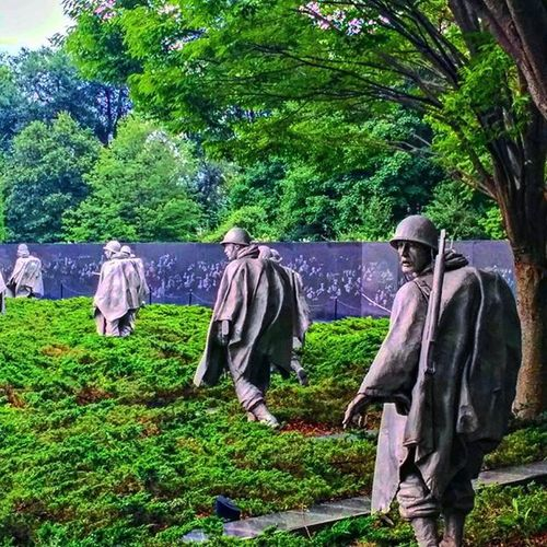 Washington WashingtonDC Koreanmemorial