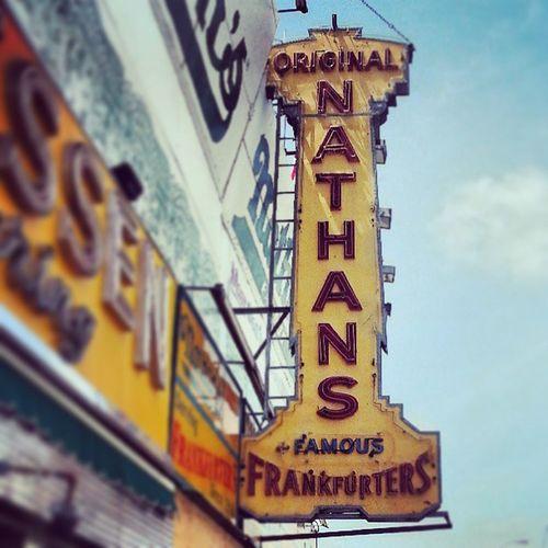 Nathansoriginal Hotdogshop Coneyisland