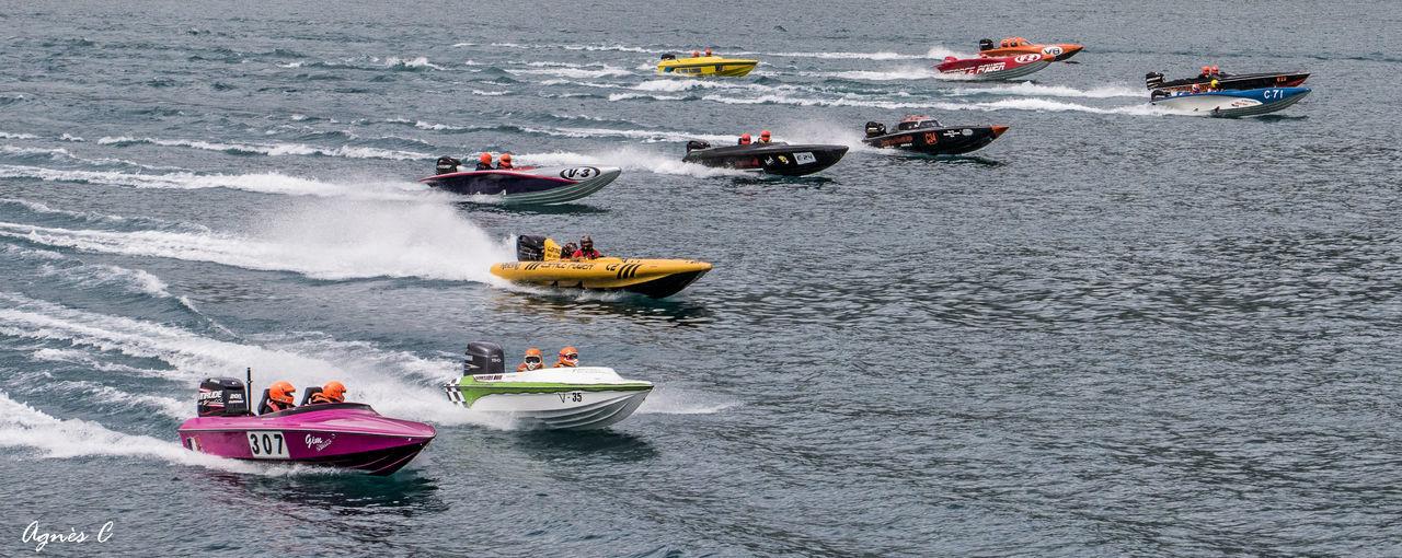 Offshore Bateaux Boats Course De Offshore Nautical Race Racing Tour Savines Vitesse