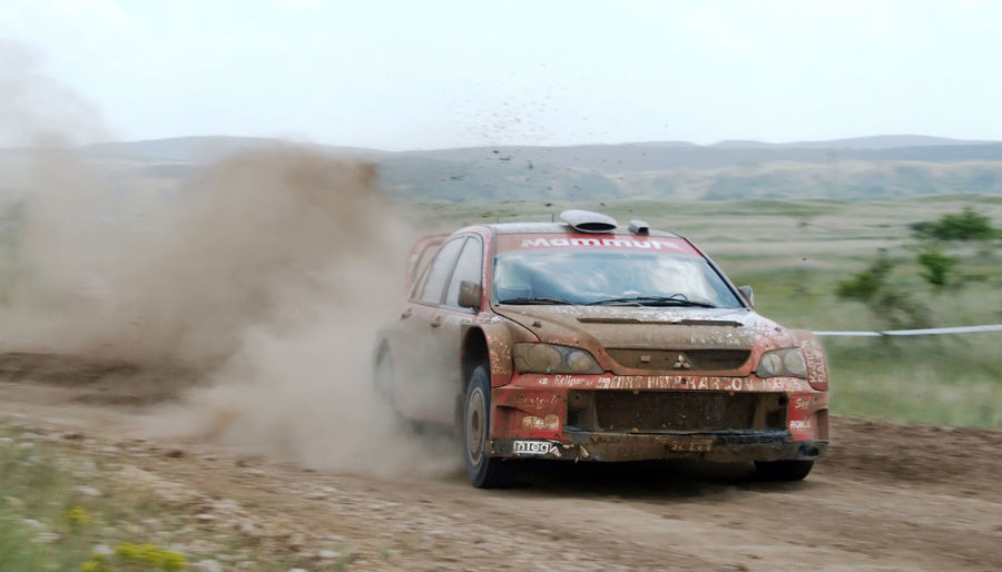 Car Corner Dirt Dirty Driver Driving Fast Fast Car Japanese Car Land Vehicle Mode Of Transport Motion Motorsport On The Move Race Race Car Ralliart Rally Red Car Sport Transportation Vehicle Wheel
