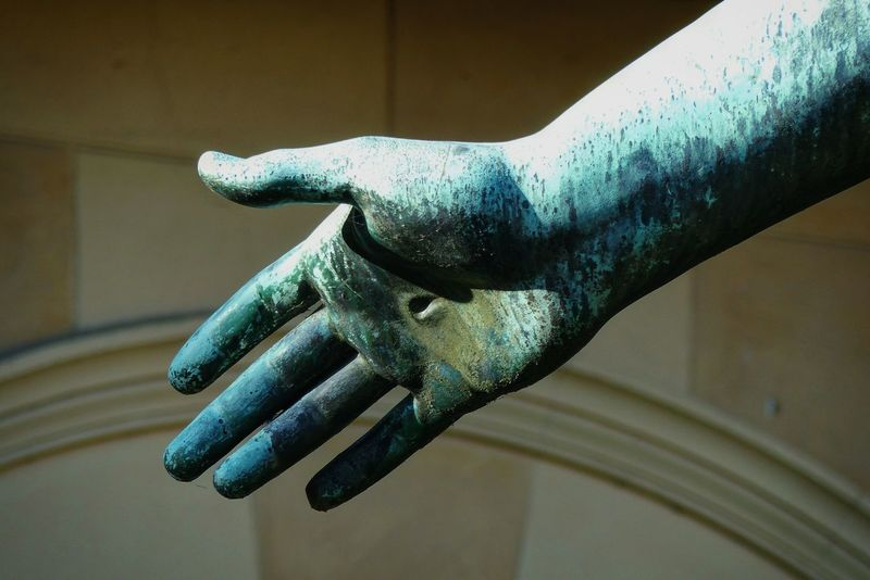 Human Hand Close-up EyeEmNewHere Sanssoucis Sanssouci Park Potsdam Aesthetic Photography Sculpture Statue Art Fotografie Beautiful Awesome Amazing Hand Human Body Part The Still Life Photographer - 2018 EyeEm Awards