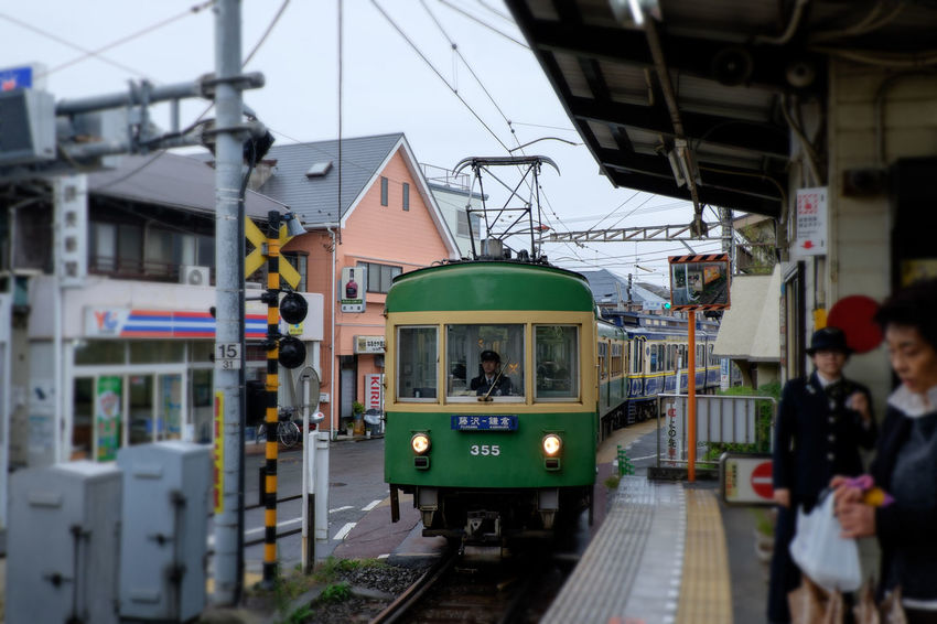 Enoden Fujifilm Fujifilm X-E2 Fujifilm_xseries Kamakura Koshigoe Train Train Station Tram 富士フィルム 撮り鉄ではない 江ノ電 腰越 鎌倉 電車 駅