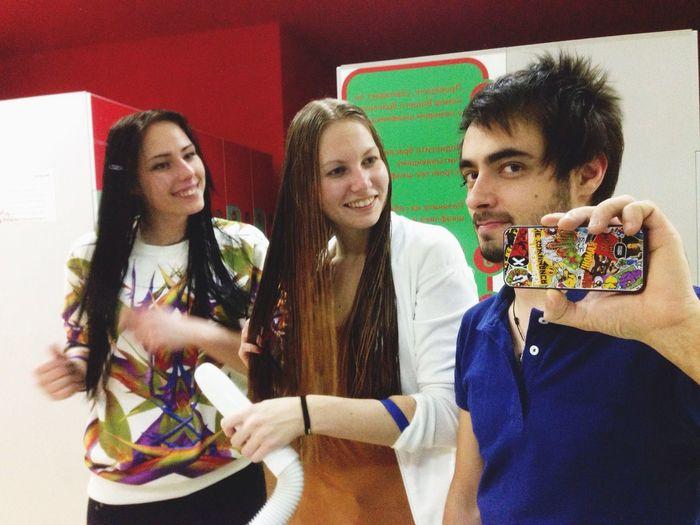 Friends Aquapark DmitryBarykin SelfieInMirror