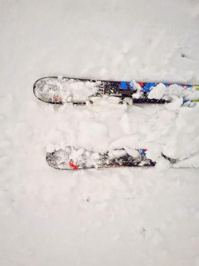 No People Close-up Outdoors Day Snow Ski White Cold Kontrast Snow ❄ Fun Sport Winter Wintertime Sports Wintersport BYOPaper!