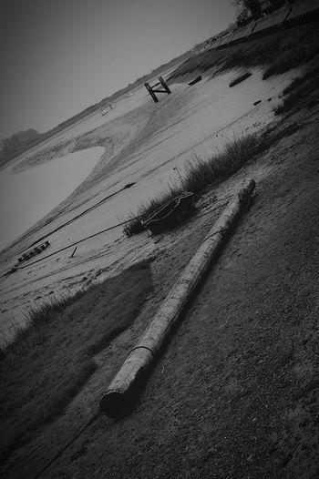 Where I Grew Up Boat Mast Mast Boat Boats Estuary Mud Muddy Squelchy Mud Black And White Black & White Black And White Photography At An Angle United Kingdom Nikon D3200