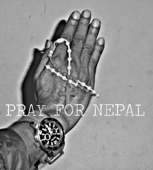 Hello World Pray For Nepal