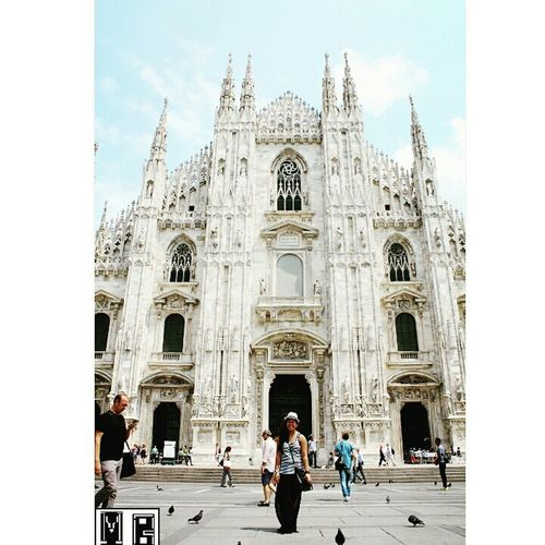 My Smile Is My Happiness. ♡ Enjoy Love Milan🇮🇹 Duomo Di Milano Nicecity 🎈👻 Happy Thats Me ♥ Just Taking Pictures