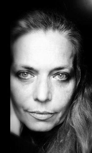 Beautiful Woman Indoors  Headshot