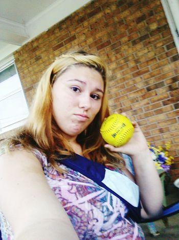 Softball MyLove❤ Mysport Mylife ♡