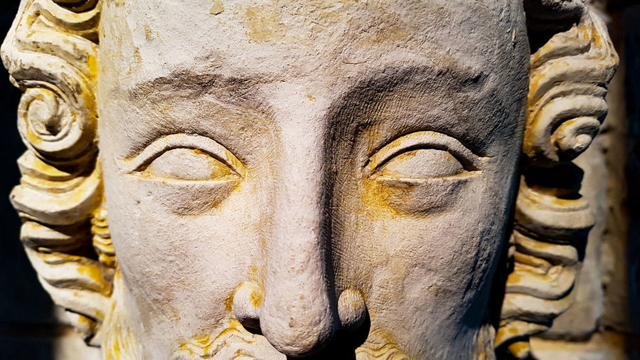 Statue Spirituality Sculpture Religion Ancient Place Of Worship Close-up HUAWEI Photo Award: After Dark