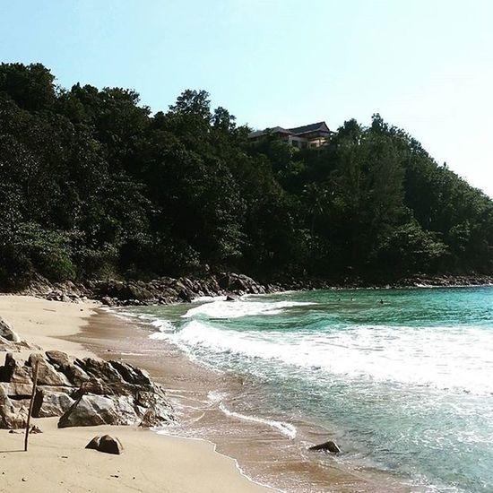 หาดกล้วยยังคงเงียบสงบเหมือนเดิม Bananabeach Phuket Thailand