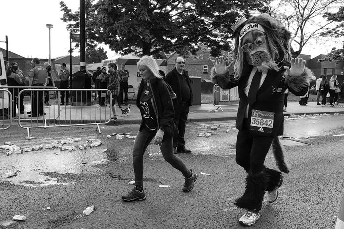 London Marathon 2017 Outdoors London Marathon London Marathon 2017 London Runners Black And White