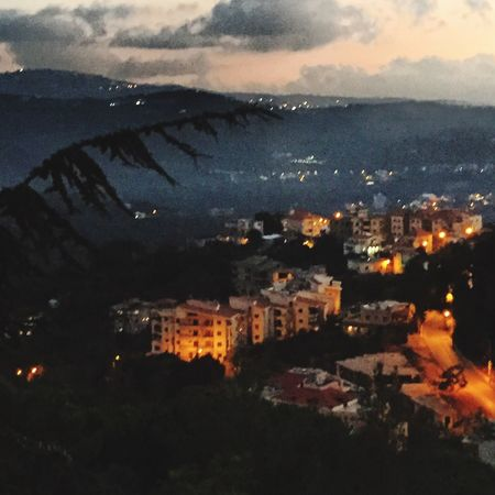 Baabdat, Mount Lebanon, back home. View taken from my balcony A Place I Like Hello World Nice Evening Check This Out Nice Shot The Place I'm Now IPhone6 Plus Nice To Feel At Home Cold Weather