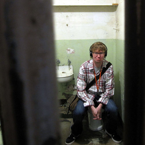 Ain't no such thing as privacy in prison, man. Alcatraz Alcatraz Island Bay Area California Federal Penitentiary Jail San Francisco Sitting Toilet Tourist Abandoned Golden Gate National Recreation Area National Park Service Photo Of The Day Prison Privacy Toilet Bowl Tourism