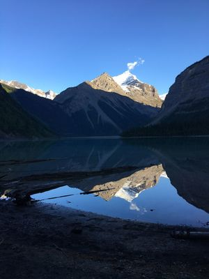 Kinney Lake Mount Robson Provincial Park Perspectives On Nature
