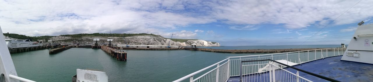 White Cliffs Of Dover Dover England Dover Harbor