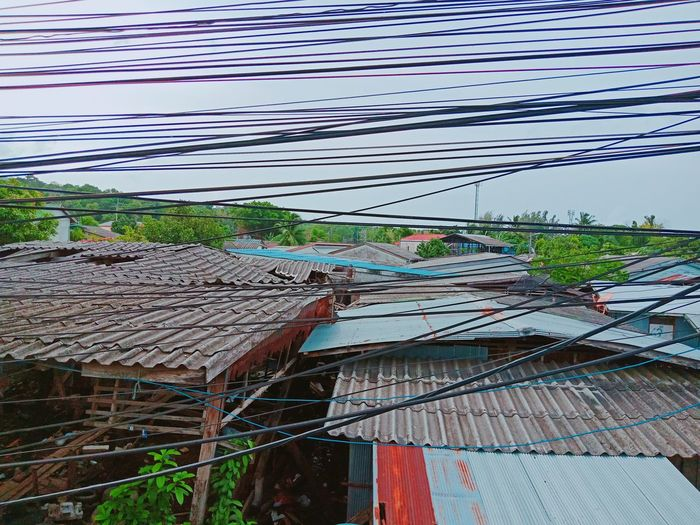 Zinc roof Zinc Roof Thailand🇹🇭 Art Cable Sky