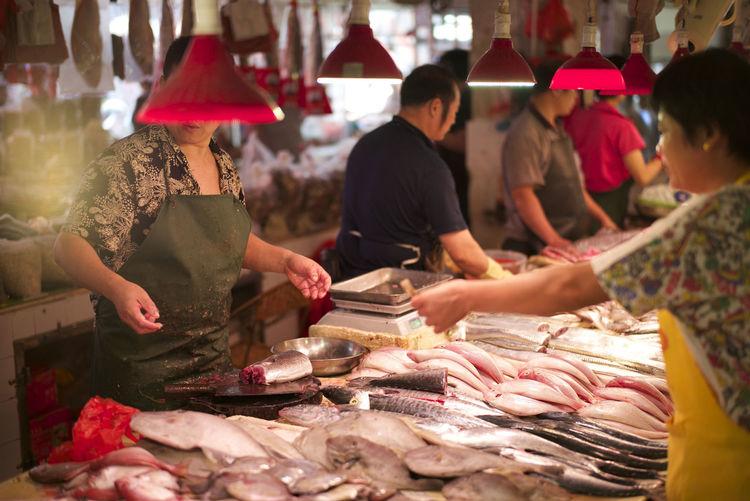 Market China Trip Danshui Town Leica M-P Taking Photos Asian Culture Walking Around
