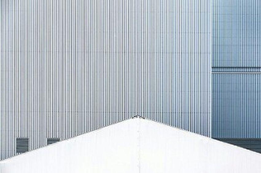 Architecture Building Geometric Industrial Building  Industrial Architecture Blue Lines Modern Urban Grey Blue Industrial Industrial Area