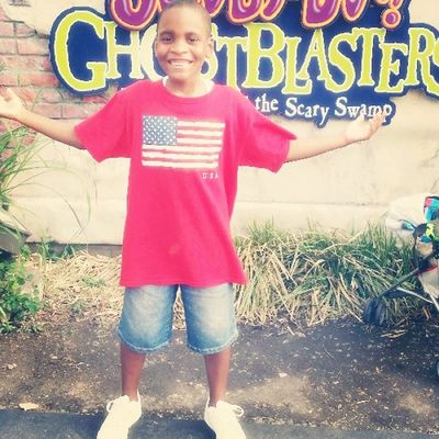 He's just living! 6flags ?
