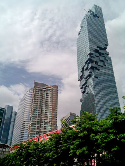 The new tower and Sky train at sathon Areas.Bangkok Thailand Skytrainbangkok Tower In Bangkok Thailand New Tower In Thailand At Bangkok EyeEm Gallery Asian  Thailand Photos Towers Sathon Road Bangkok Sky And City