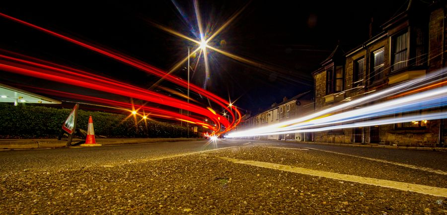 Illuminated roads Long Exposure Light Trail Night Speed Illuminated Blurred Motion Motion Transportation Traffic Road Street No People Outdoors City Long Exposure After Dark Long Explosure Long Exposure Night Photography Longexpo Longexposures Red
