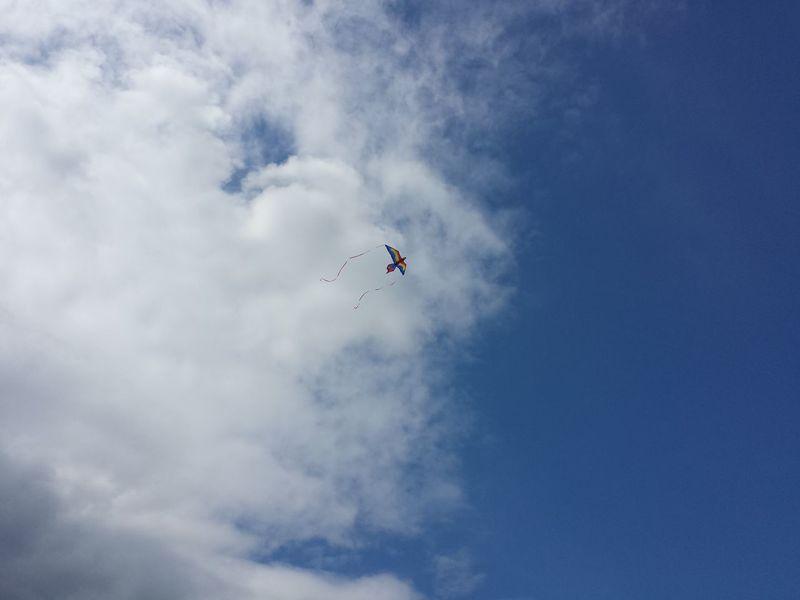 Blue Skies Clouds And Sky Kite Kite Flying Kite In The Sky Sky And Kite Up The Sky