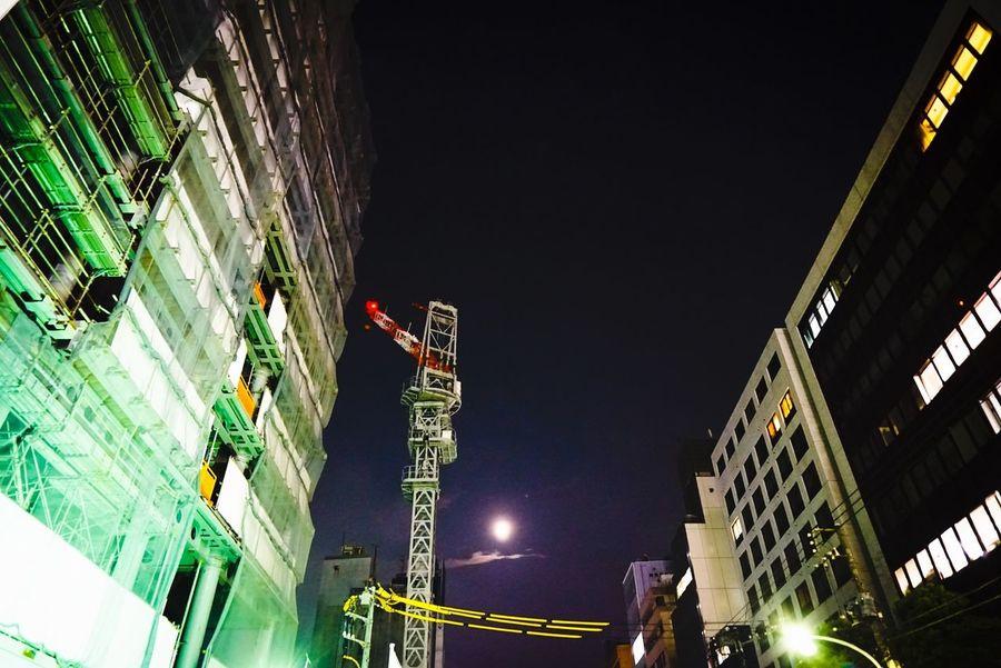 Cityscapes Tokyo Tokyo,Japan Moonlight Midnight In Tokyo STLSQA