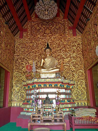 Spirituality Travel Destinations Place Of Worship Wat Phra That Jom Ping Lampang   Thailand Religion Buddhastatue Buddhaimages Buddha Image Buddha