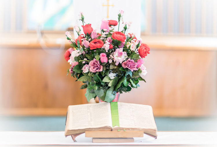 Church Death Life Wedding Wedding Flowers Wedding Photography Baptism Bible Book Bouquet Church Bible Flowers Close-up Day Flower Flowers Wedding Focus On Foreground Freshness Funeral Funeral Ceremony Funeral Pyres Gift I Thee Wed Indoors  Life Events Love Bible Nature No People Rose - Flower Table Wedding Ceremony Wedding Chapel