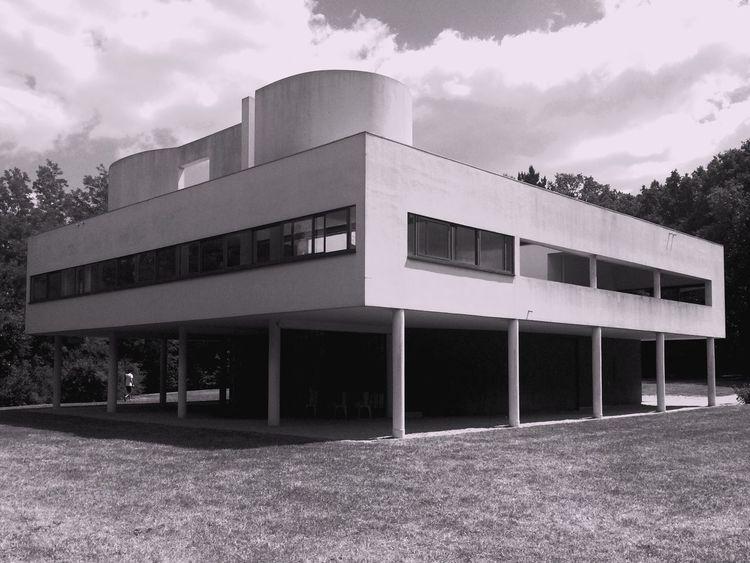 Le Corbusier's Villa Savoye Architecture France Modern Architecture Lecorbusier Interior Design Design