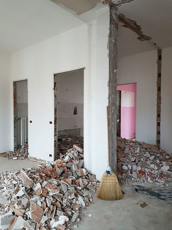 Destruction Home Interior Architecture No People Indoors  Day Building Interior Workspace Work In Progress Home Building Interior Renovation Building Tools Home Renovation  Building Home Refurbishing Construction Industry Work Area Remodelinghome Rebuilding Home Improvements Minimalist Architecture