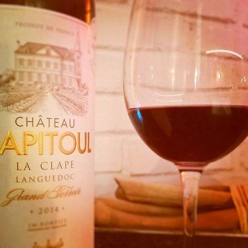 Et soudain LaClape the only one. Wine Languedoc Favinside Rouge Instawine Vin poke @stef_o_fourneaux 😉