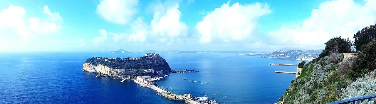 Naples, Isola di Nisida, Italy Naples Italy Cloud - Sky Sky Water Outdoors Nature No People Panoramic Travel Destinations Building Exterior Sea Landscape Scenics Day Built Structure Mountain Beauty In Nature Vacations Nautical Vessel Wonderful Campania My City Is Beautiful Photographic Memory Nisida Island