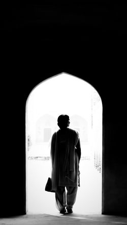 Old photo.. different edit and crop.. Lazy me 😇 InMakin! Randomness Selective Focus Nikon Blackandwhite Black And White Mughal Architecture Ancient Architecture Sunlight And Shadow Adult Indoors  Architecture One Person People Walking Built Structure Silhouette Love Yourself Press For Progress Inner Power This Is Family