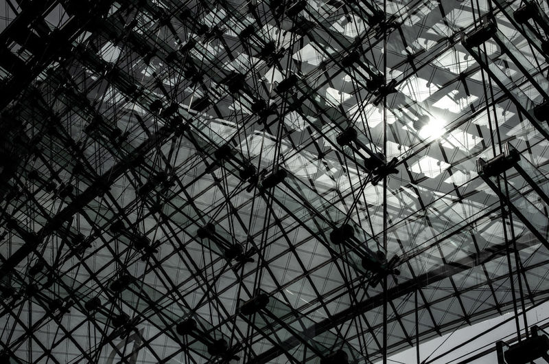 Architecture Berlin Love Berlin Photography Architecture Backgrounds Berlinstagram Building Exterior Built Structure Ceiling Construction Industry Construction Site Full Frame Glass Industry Metal Modern Nature No People Pattern Sunlight Train Station
