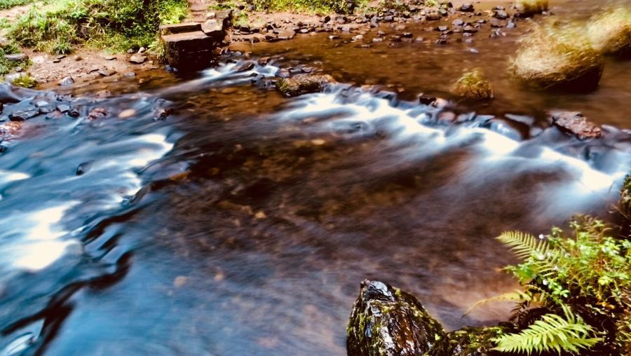 Water Motion Long Exposure Nature Rock Flowing Water Rock - Object Beauty In Nature Blurred Motion Scenics - Nature River Flowing Outdoors