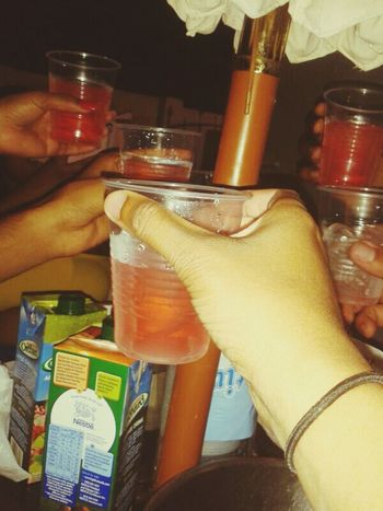 Cheers Drinking Vodka With Friends Throwback