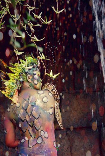 Dragon woman Tree jungles Jungle Woman Woman Portrait Dragon