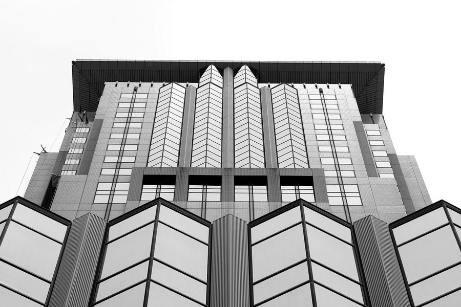 Façade Skyscraper Symmetry Façade Architecture Building Exterior Built Structure Architectural Feature Architectural Detail