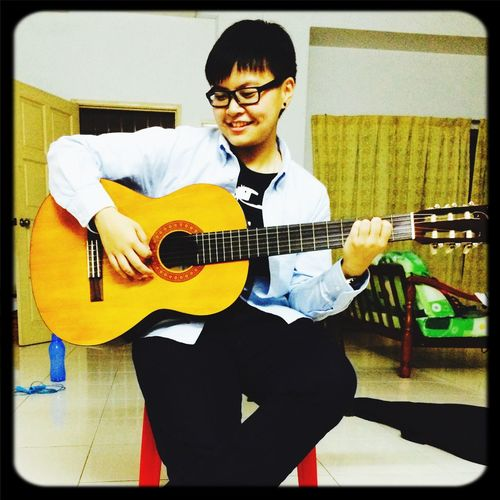 Music is always my best companion :) Hello World That's Me Cheese! Music