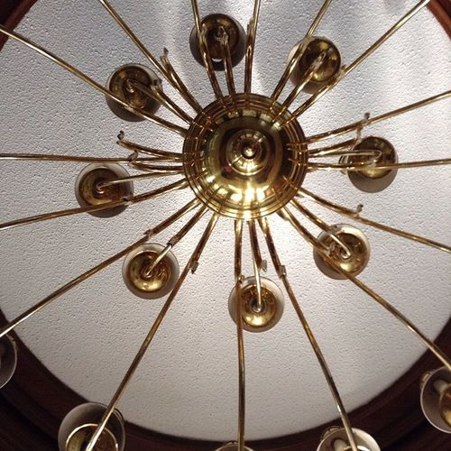Concavemadness Chandelier