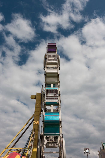 Carnival Architecture Building Exterior Built Structure Cloud - Sky Clouds Day Low Angle View No People Outdoors Ride Sky