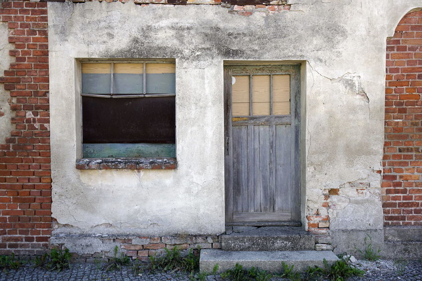 Abandoned Architecture Brick Wall Building Exterior Built Structure Day House No People Outdoors Window