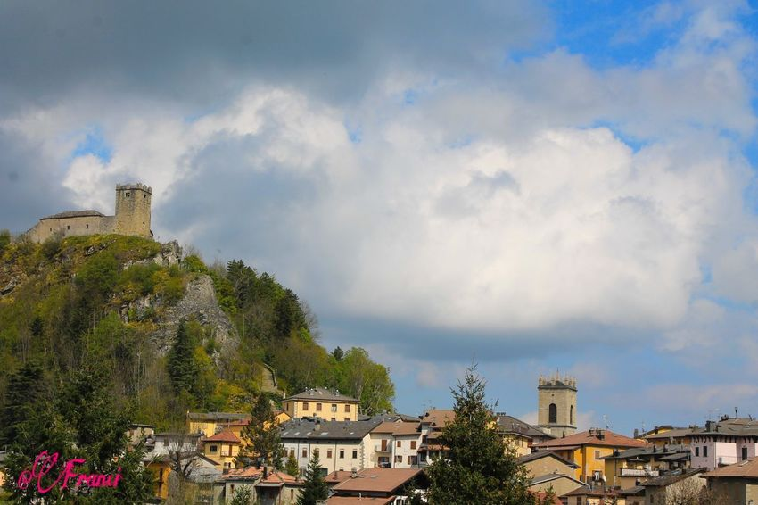 Castle Modena Sestola Architecture Building Exterior Built Structure City Cloud - Sky Day House Italy Mountain Nature No People Outdoors Residential Building Sky Tree